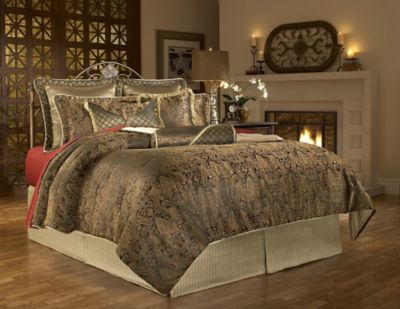 The Elite Queen 9-Piece Super Pack Bedding Set - Manchester Pattern