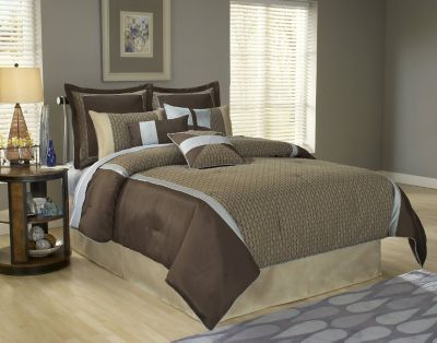 Paramount Queen 9-Piece Super Pack Bedding Set - Stockton Pattern