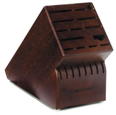 Knife Storage 22-Slot Walnut Block