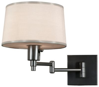 Real Simple 1-Light Wall Swinger - Gunmetal
