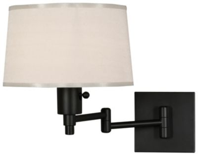Real Simple 1-Light Wall Swinger - Matte Black