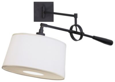 Real Simple 1-Light Wall Sconce - Black