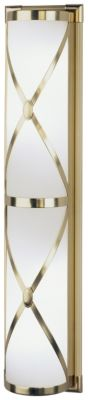 Chase 4-Light Bath Strip - Natural Brass