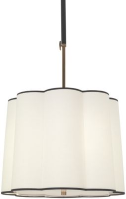 Axis 3-Light Adjustable Pendant - Aged Natural Brass