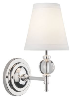 Muse 1-Light Calliope Wall Sconce - Lead Crystal