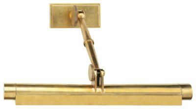 David Easton Meilleur 2-Light Picture Light - Natural Brass