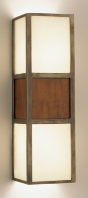Wonton 2-Light Wall Sconce - Deep Patina Bronze
