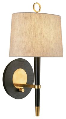 Jonathan Adler Ventana 1-Light Wall Sconce - Ebony