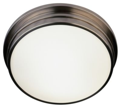Roderick 2-Light Flush Mount - Antique Silver