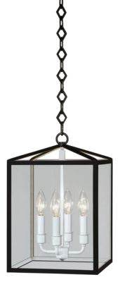 Millbrook 4-Light Pendant - Black Powder