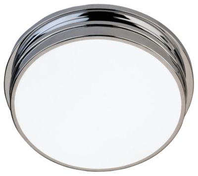 Roderick 2-Light Flush Mount - Polished Chrome