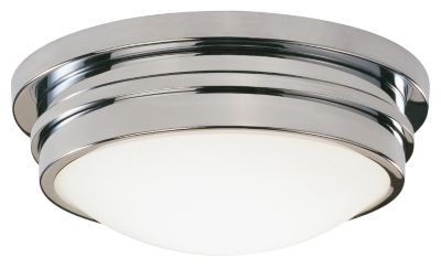 Roderick 1-Light Flush Mount - Polished Chrome