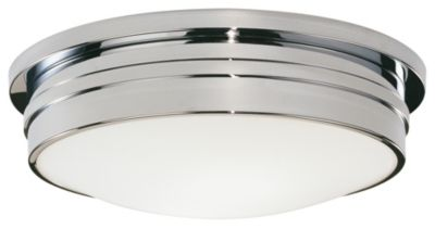Roderick 3-Light Flush Mount - Polished Chrome