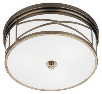 Chase 3-Light Flushmount - Dark Antique Nickel