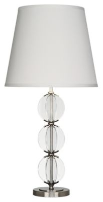 Latitude Table Lamp - Glass/Dark Antique Nickel