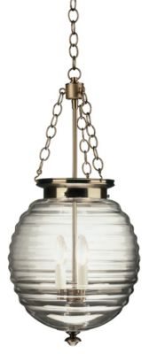 Beehive 3-Light Pendant - Dark Antique Nickel