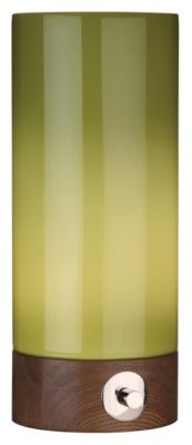 Jonathan Adler Capri 14-3/4 Table Lamp - Green and Walnut