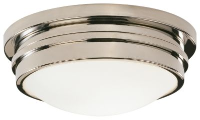 Roderick 10'' Flush Mount - Polished Nickel