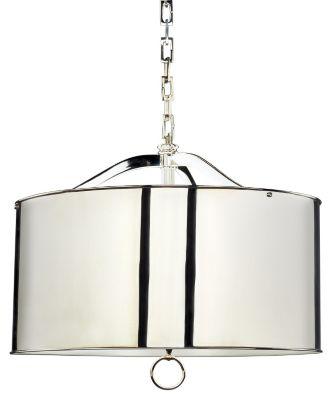Porter 3-Light Pendant - Polished Nickel