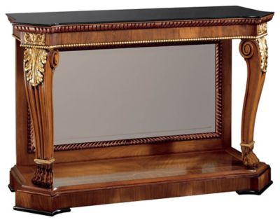 Premiere Console with Glass Top