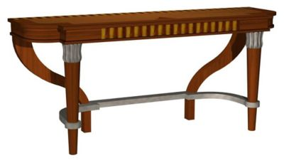 Premiere Console with Wood Top