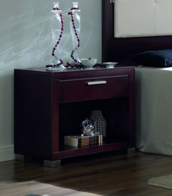 Terra 1-Drawer Bedside Table