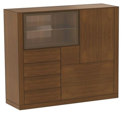 Ados Occasional Cabinet with 4 Lateral Drawers
