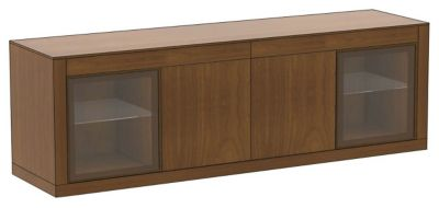 Ados Credenza with 2-Glass Doors