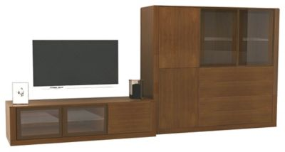 Ados 2-Piece Entertainment Wall Unit