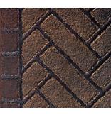 Olde English Herringbone Firebrick Walls and Hearthbrick for 42
