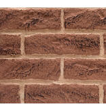 Tavern Brown Firebrick Walls for 42