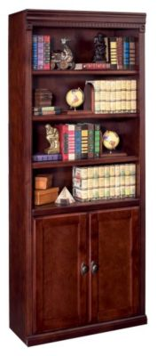 Huntington Club Bookcase with Lower Doors