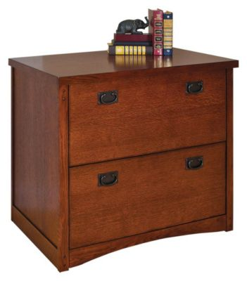 Mission Pasadena 2-Drawer Lateral File Cabinet