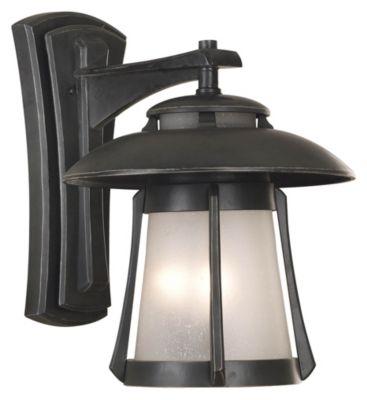 Laguna 3-Light Outdoor Wall Lantern - Ebony Pearl