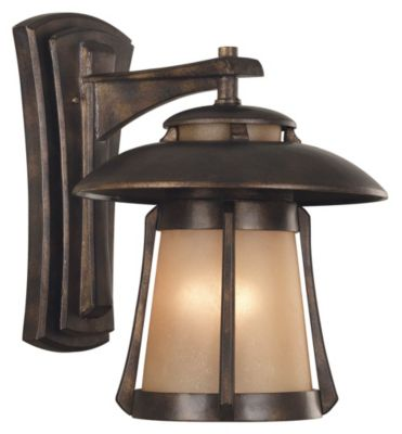 Laguna 3-Light Outdoor Wall Lantern - Golden Bronze