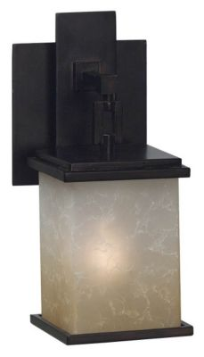 Plateau 1-Light Bath/Wall Sconce - Oil Rubbed Bronze