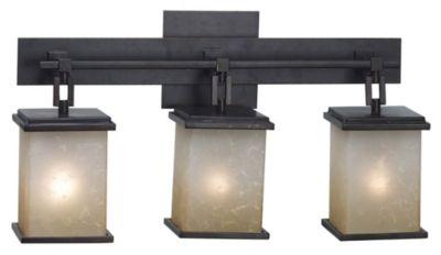 Plateau 3-Light Bath Bar - Oil Rubbed Bronze