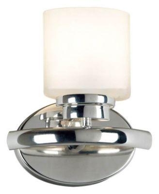 Bow 1-Light Bath/Wall Sconce - Polished Nickel