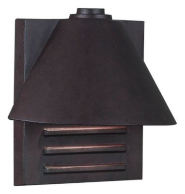 Fairbanks 1-Light Small Outdoor Wall Lantern - Copper