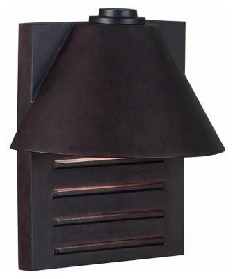 Fairbanks 1-Light Large Outdoor Wall Lantern - Copper