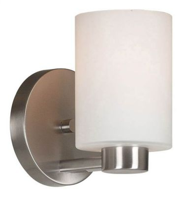 Encounters 1-Light Wall Sconce - Brushed Steel