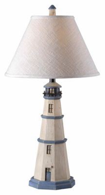 Nantucket 32'' Table Lamp - Antique White