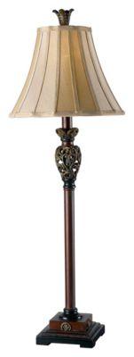 Iron Lace Buffet Lamp