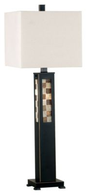 Windowpane Table Lamp