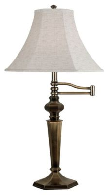 Mackinley 32'' Swing Arm Table Lamp - Georgetown Bronze
