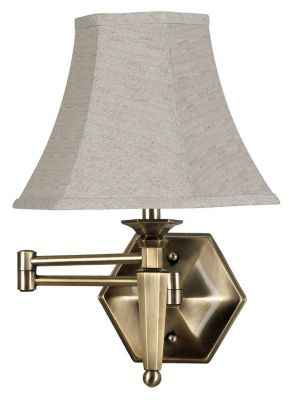 Mackinley 17'' Wall Swing Arm Lamp - Georgetown Bronze