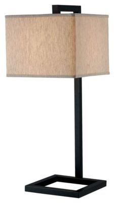4 Square Table Lamp