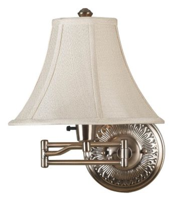 Amherst 1-Light Swing Arm Light - Bronzed Brass