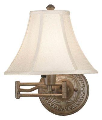Amherst 1-Light Swing Arm Light - Nutmeg