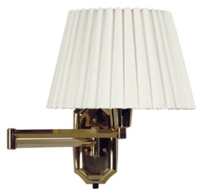 Traditions 1-Light Swing-Arm Wall Lamp - Polished Brass